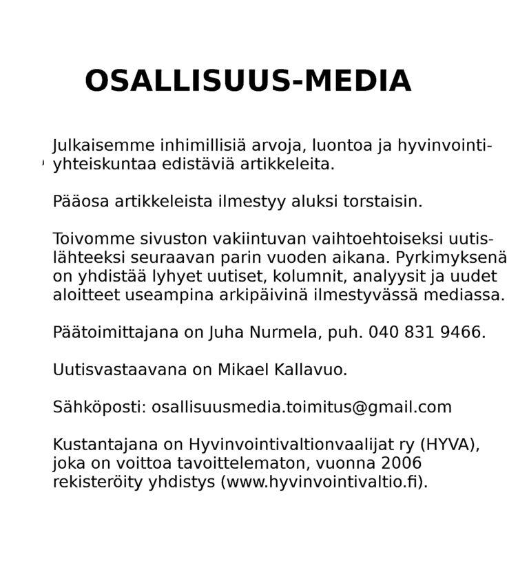 OSALLISUUS-MEDIA
