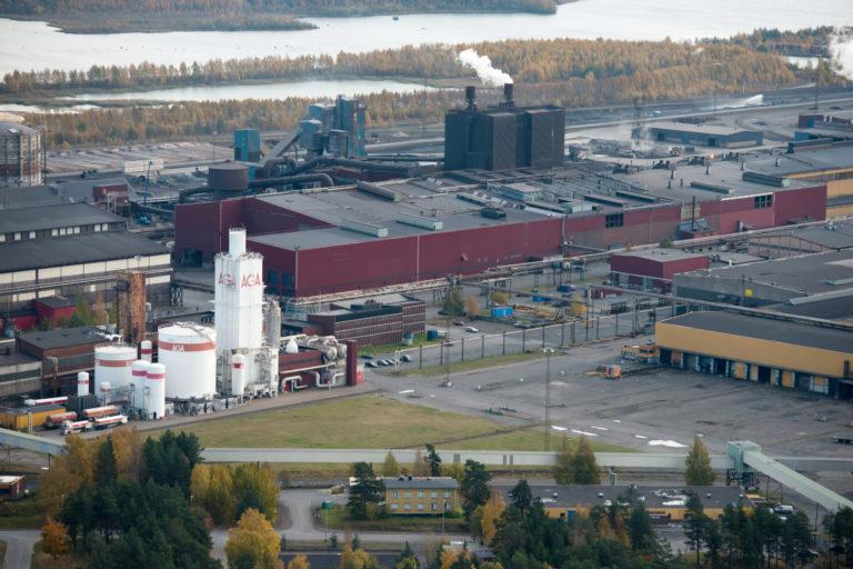 Yle: Ruotsiin tai Raaheen maailman ensimmäinen  hiilidioksiditon terästehdas