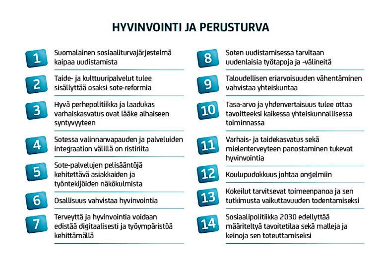 STRATEGISET RATKAISUKORTIT JA HYVINVOINTIVALTION VAALIMINEN