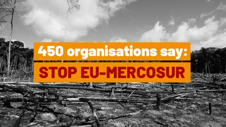 Kerstin Söderholm: Yli 450 järjestöä vaatii päättäjiä hylkäämään EU-Mercosur-sopimuksen